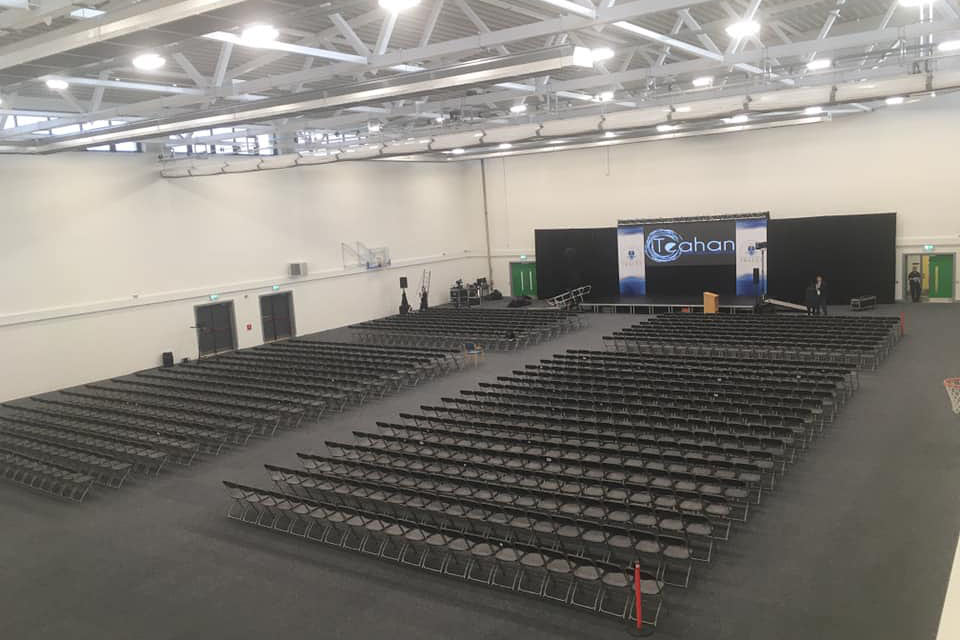 Kerry Sports Academy conference setting