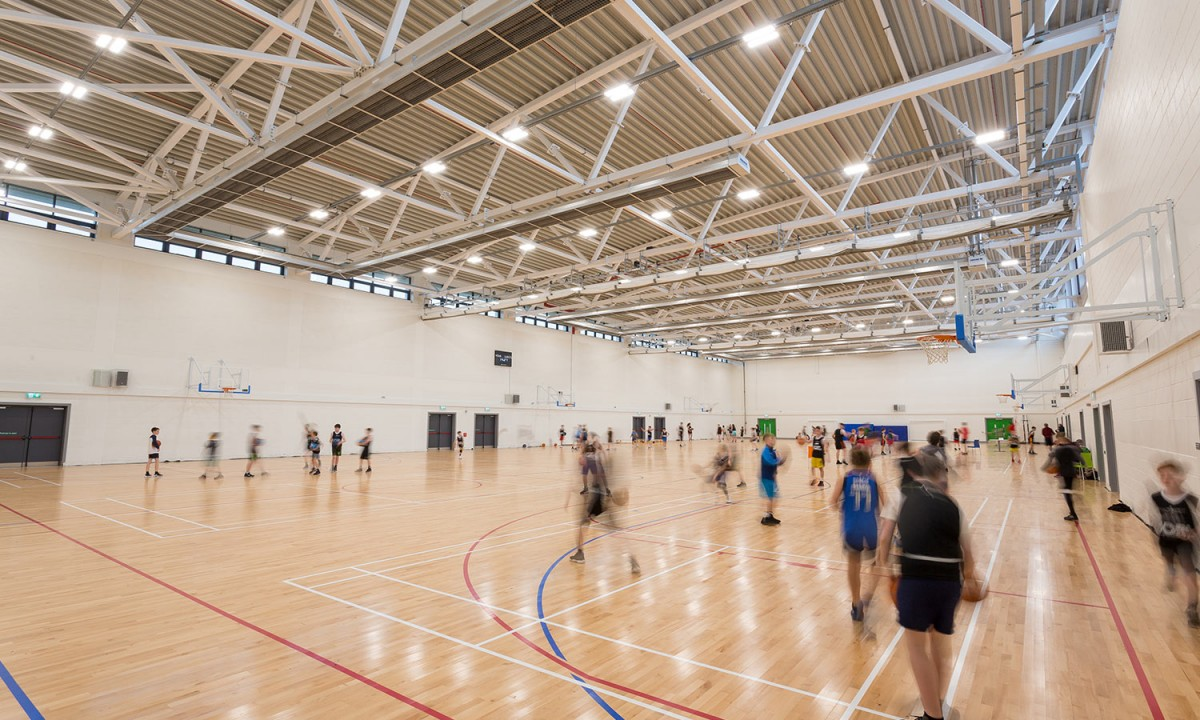 Kerry Sports Academy main hall