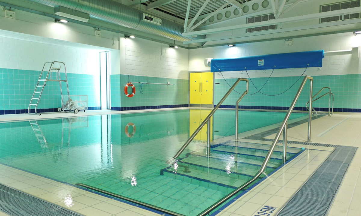 Kerry Sports Academy hydrotherapy pool