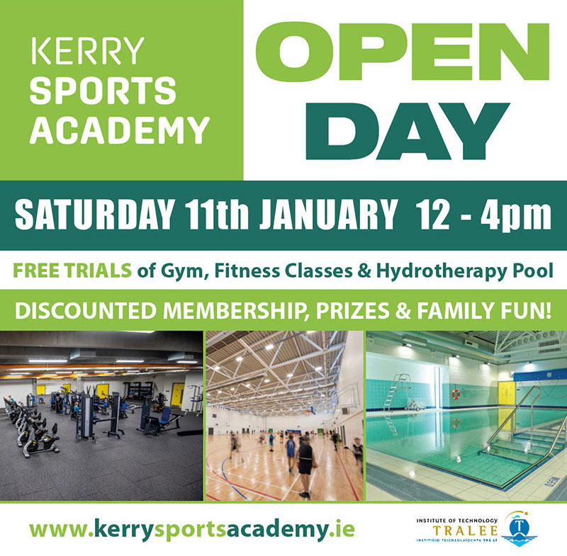Kerry Sports Academy open day