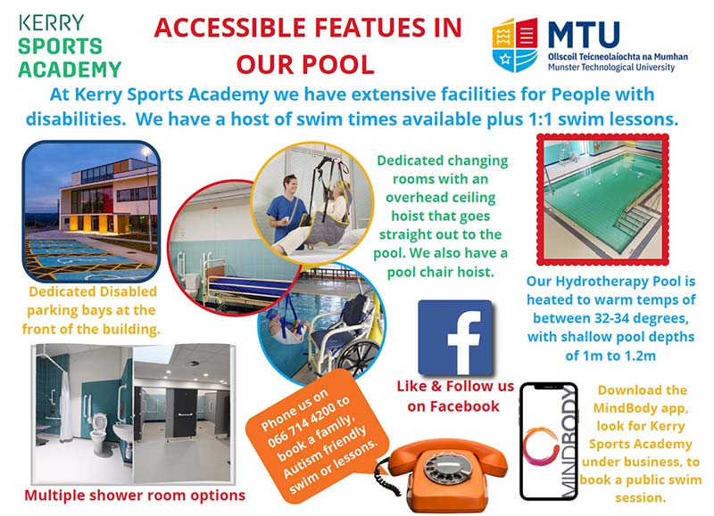 Pool accessible features