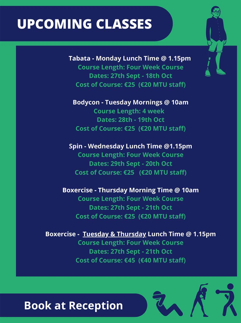 Kerry Sports Academy Fitness Classes